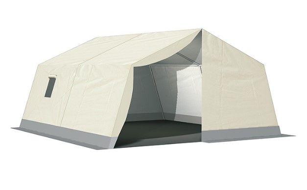 Sas-tents - abris médicaux mobiles - roder france structures - dimensions 24 à 35 m2