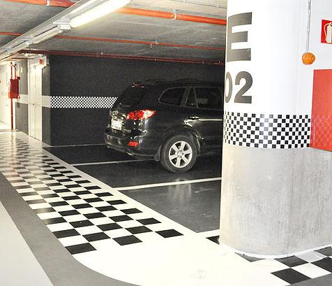Sol résine pour parking - revêtement de sol résine époxy