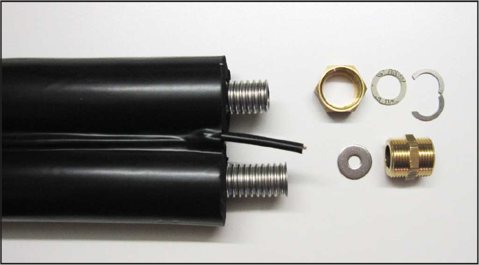 bi tube solaire isole avec cable de sond. Black Bedroom Furniture Sets. Home Design Ideas