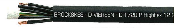 Câble multiconducteur multiconducteur pour enrouleur dr 720 p highflex