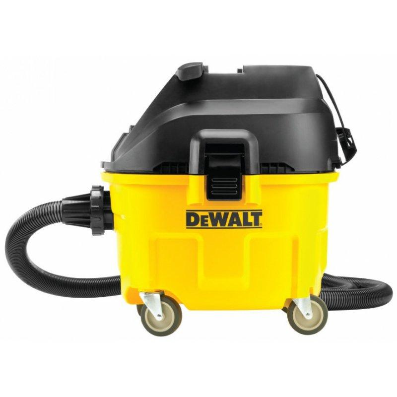 aspirateur dewalt eau et poussieres 35 litres classe m. Black Bedroom Furniture Sets. Home Design Ideas