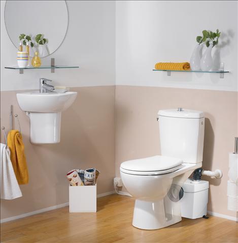 broyeur pour sanitaires sanibroyeur top silence. Black Bedroom Furniture Sets. Home Design Ideas