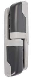 Charnière en composite porte pivotante isotherme pour chambre froide n°473