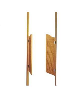 Comment poser une porte western la r ponse est sur Porte western bois