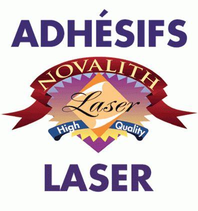Divers supports adhesifs d'impression pour copieur ou imprimante laser couleur
