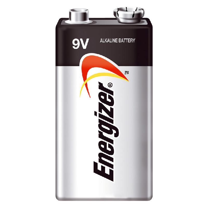 PILE ALCALINE ENERGIZER MAX 6LR61 - TYPE 9V