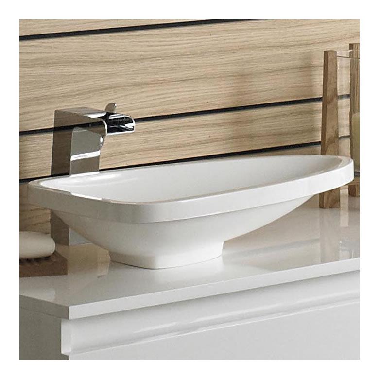 vasque triangulaire 55cm hudson reed. Black Bedroom Furniture Sets. Home Design Ideas