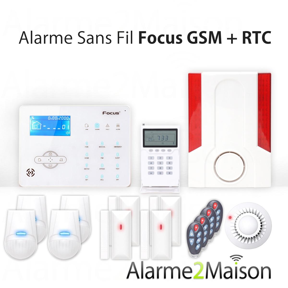 alarme anti intrusion focus achat vente de alarme anti intrusion focus comparez les prix. Black Bedroom Furniture Sets. Home Design Ideas