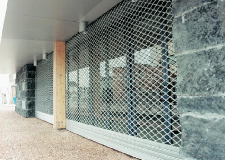 Grilles de protection d 39 entr e tous les fournisseurs grille de protection porte grille de - Grille de securite pour porte ...
