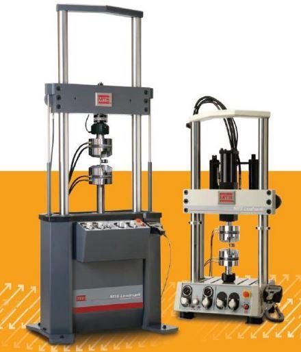 Machine d'essai servohydraulique polyvalente landmark
