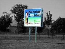 Francemetal produits panneaux d 39 affichage exterieur for Fabricant panneau publicitaire exterieur