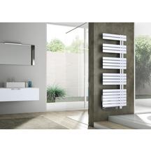 radiateur seche serviettes electrique concerto asymetrique 1000w blanc booster 1000w ref. Black Bedroom Furniture Sets. Home Design Ideas
