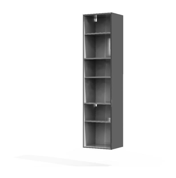 caisson colonne gris brillant mon espace maison comparer les prix de caisson colonne. Black Bedroom Furniture Sets. Home Design Ideas