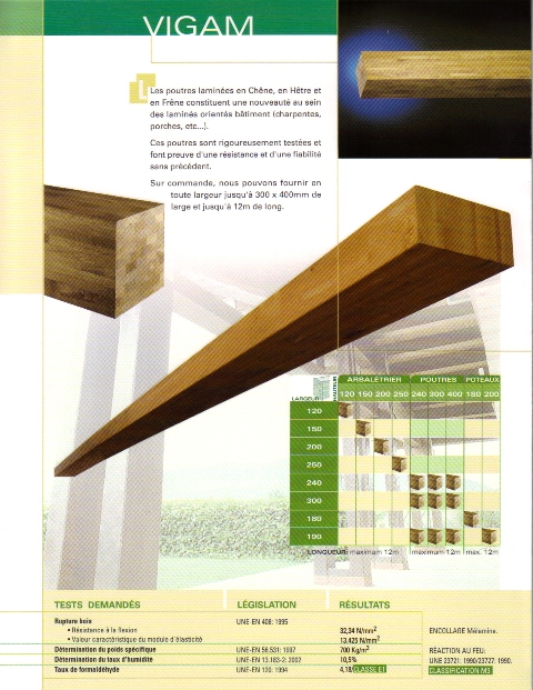 charpentes en bois lamelle colle tous les fournisseurs bati bois lamelle colle faitage. Black Bedroom Furniture Sets. Home Design Ideas
