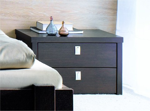 chevet de lit contemporain firenze. Black Bedroom Furniture Sets. Home Design Ideas