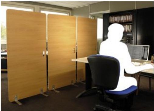 cloisons de bureaux tous les fournisseurs separation de bureau mur de bureau cloison d. Black Bedroom Furniture Sets. Home Design Ideas