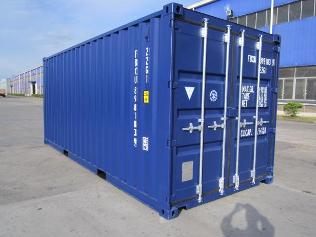 conteneur maritime 20 39 neuf container 6 m premier voyage. Black Bedroom Furniture Sets. Home Design Ideas