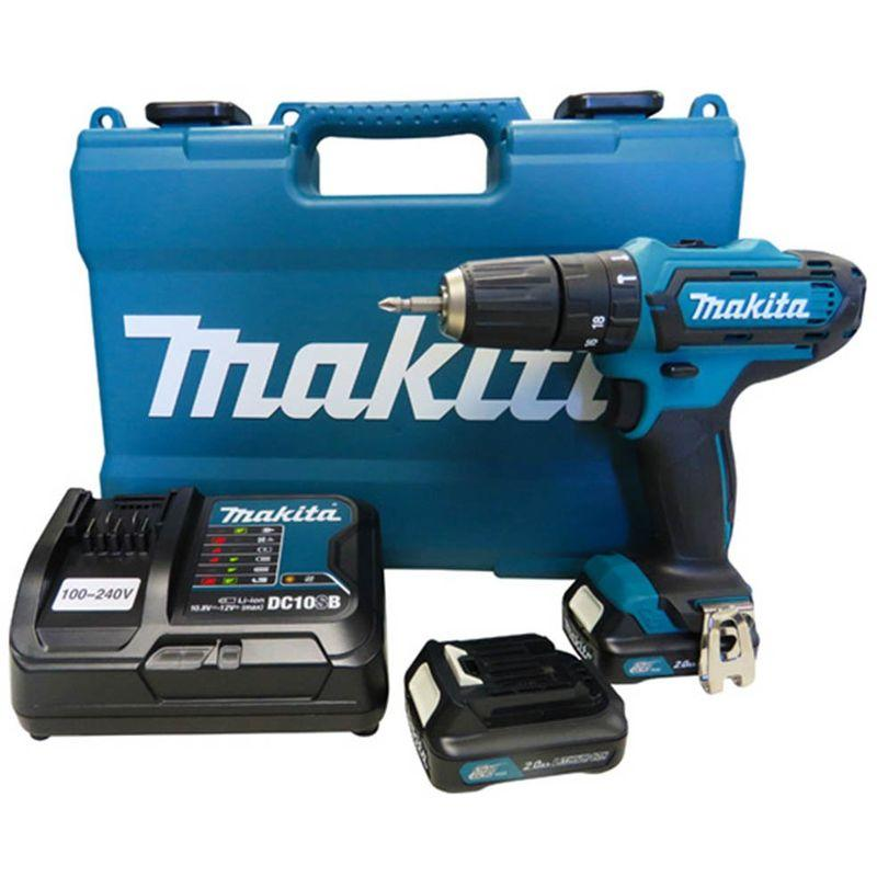 MAKITA HP331DSAE PERCEUSE VISSEUSE À PERCUSSION À BATTERIES 10.8V LI-ION SET (2X BATTERIE 2,0AH) DANS COFFRET
