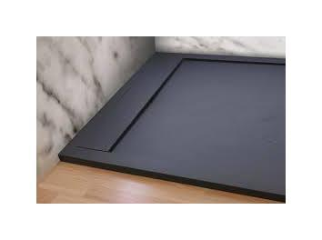 receveur de douche extra plat baltimore blanc ral 9003 70x120 pdd comparer les prix de. Black Bedroom Furniture Sets. Home Design Ideas
