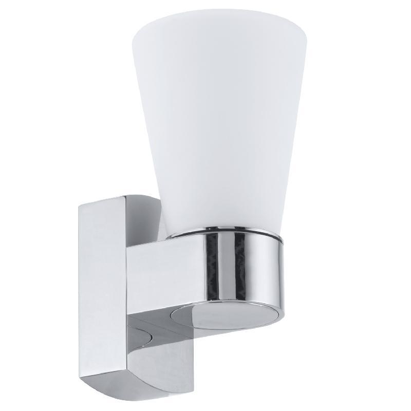Cailin applique de salle de bain chrome h18 5cm for Applique salle de bain eglo