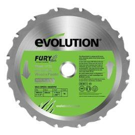 LAME SCIE CIRCULAIRE Ø 210 MM USAGE MULTIPLE EVOLUTION LAMFURY3