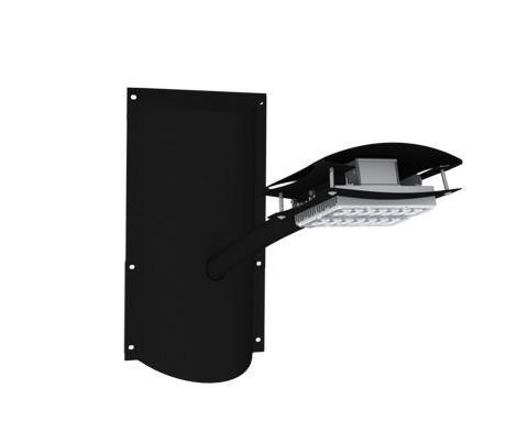Lampadaires solaires pour l 39 eclairage public tous les for Spot eclairage facade noel
