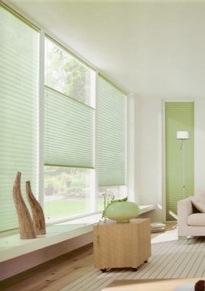 Store interieur plisse for Stores pour baies vitrees