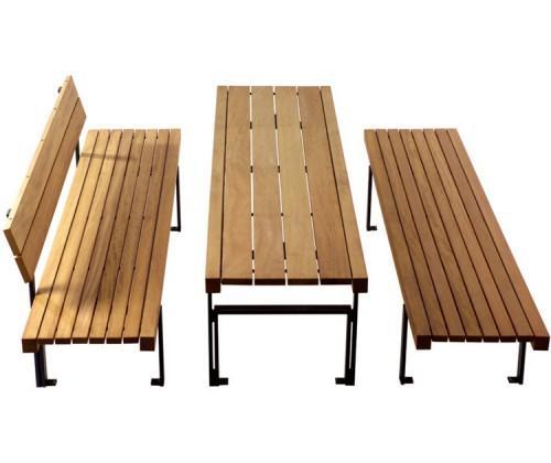 table de pique nique guyon. Black Bedroom Furniture Sets. Home Design Ideas