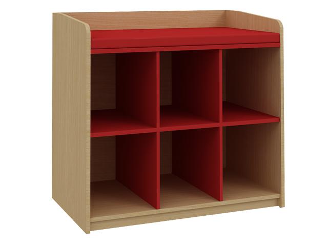 Vestiaires multicases tous les fournisseurs casiers de for Meuble 6 casiers