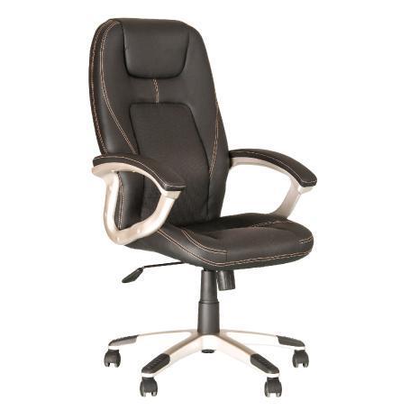 Forsage fauteuil de direction au design sport, ergonomique, synchrone. noir