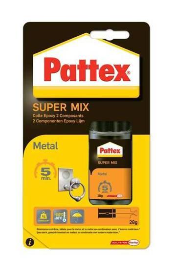 PATTEX COLLE EPOXY LIQUIDE MÉTAL 5 MN SERINGUE 25 ML - HENKEL