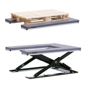 table elevatrice extra basse en u. Black Bedroom Furniture Sets. Home Design Ideas