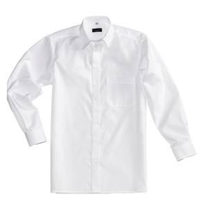 chemise de costume pour hommes coton blanc taille 40 pionier workwear. Black Bedroom Furniture Sets. Home Design Ideas