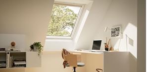 la fenetre velux electrochrome en partenariat avec sageglass. Black Bedroom Furniture Sets. Home Design Ideas