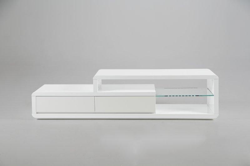 meuble tv design laque blanc summer: tv meubles lumineux meuble ... - Meuble Tv Design Blanc Laque Cavalli