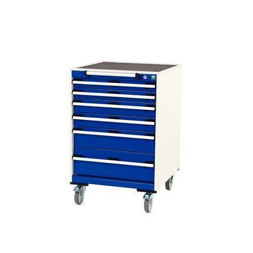 armoire tiroirs mobile cubio largeur 65 cm comparer. Black Bedroom Furniture Sets. Home Design Ideas