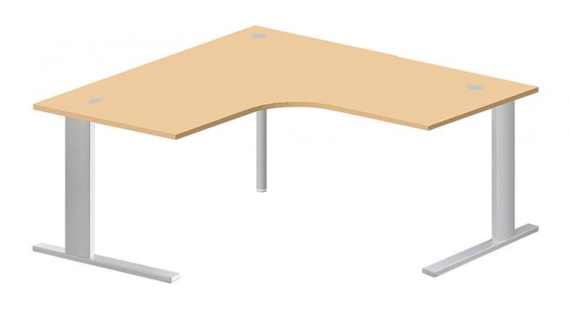 Bureau compact 90 symetriques 140x140x60 for Bureau 140x60