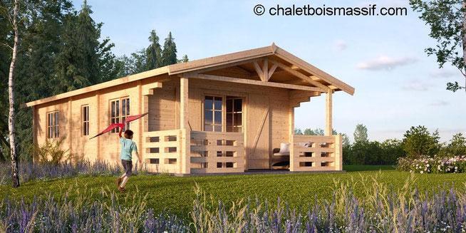 Chalet Bois Vosges - Monsieur bernard jean meffre produits chalets en bois