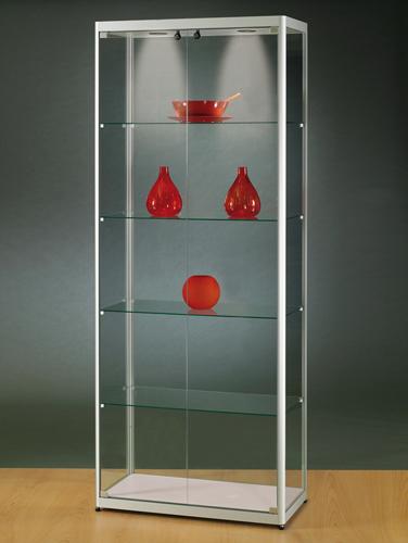 vitrine haute d 39 exposition sv80. Black Bedroom Furniture Sets. Home Design Ideas