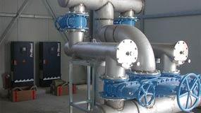 Installations aux uv pour traitement des eaux - dulcodes m