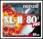 MINIDISC MD 80 - MAXELL