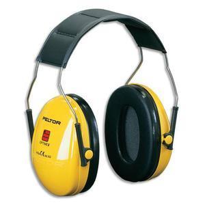 Plr casque anti bruit jaune h5 1001