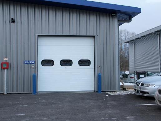 porte de garage 8 pieds