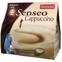 dosettes de caf cappuccino comparez les prix pour. Black Bedroom Furniture Sets. Home Design Ideas