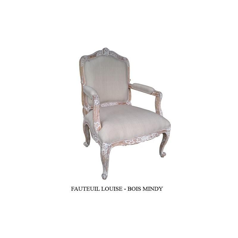 fauteuil de style. Black Bedroom Furniture Sets. Home Design Ideas