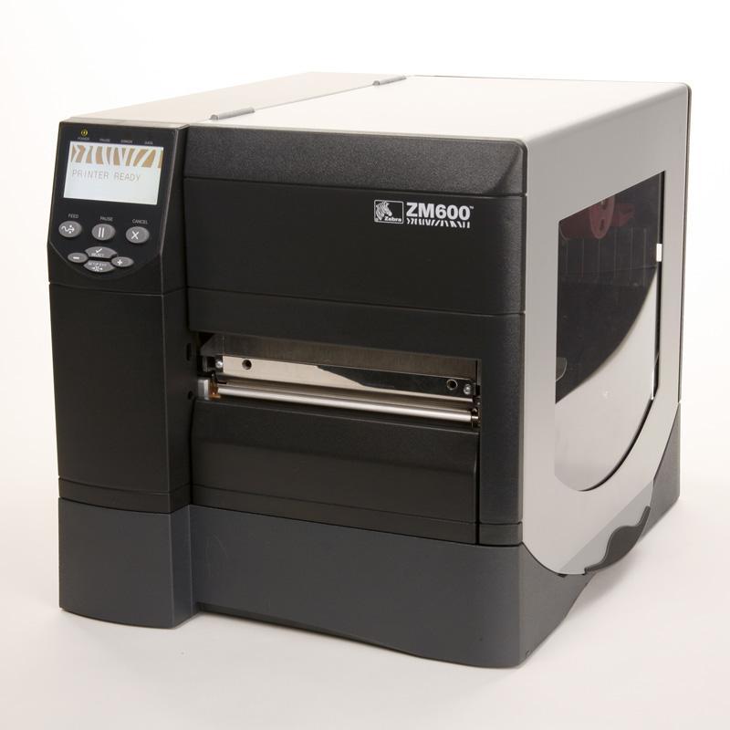 imprimante codes barres industrielle zm600 zebra karelis. Black Bedroom Furniture Sets. Home Design Ideas