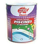 Peintures piscines tous les fournisseurs peinture for Peinture piscine caoutchouc