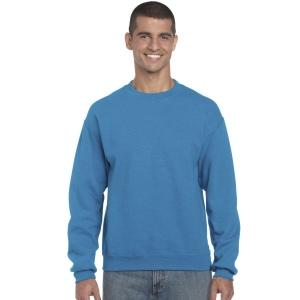 Sweat col rond marquage 1 couleur inclus