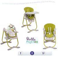 Chaise haute polly 2 en 1 soins b b sur enperdresonlapin - Chicco chaise haute 3en1 polly magic ...