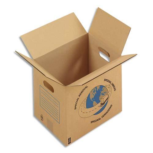 Caisse et boite en carton